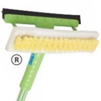 Rodo e Escova para Limpeza de Para Brisas